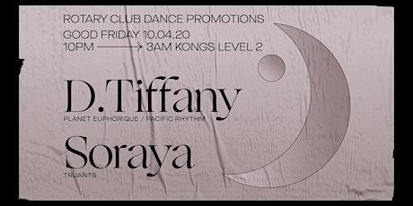Rotary Club - D. Tiffany & Soraya tickets