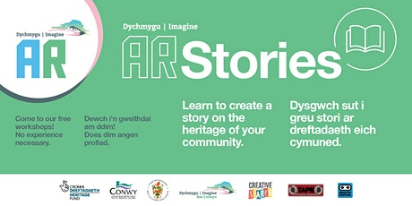 Stories/Straeon Imagine AR @Rhos on Sea, Tues21,28 Apl, 5,19 May tickets