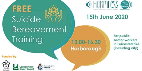 Suicide Bereavement training (half day) - Harborough, Leicestershire tickets