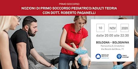 Nozioni di Primo Soccorso Bambini e Adulti - Teoria -Bologna biglietti