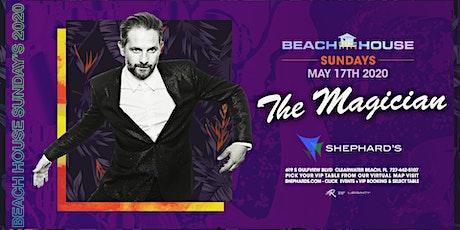 The Magician at Beach House Sundays 2020 tickets