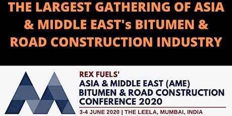 Rex Fuels' AME Bitumen & Road Construction Conference 2020 tickets