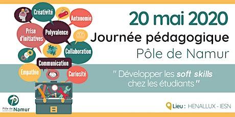 Journée pédagogique du Pôle académique de Namur billets