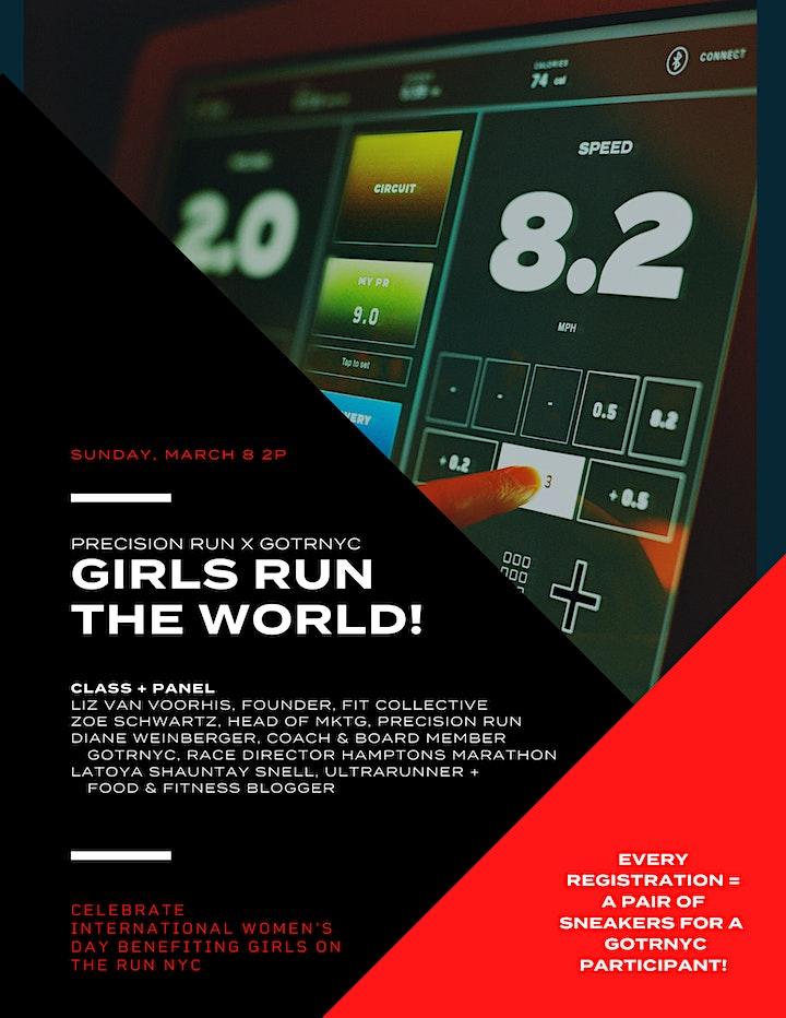 Girls Run The World! Precision Run x Girls On The Run NYC: Class + Panel image