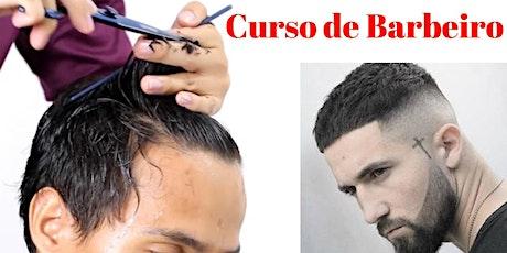 Curso de barbeiro cabeleireiro RJ Rio de Janeiro tickets