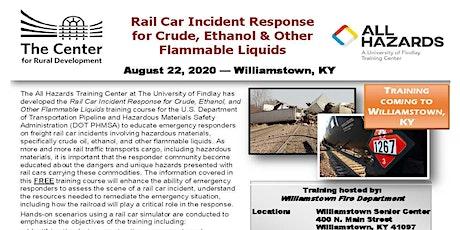 Rail Car Incident Response tickets
