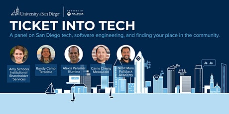 Ticket into Tech: An online panel on software engineering in San Diego tickets