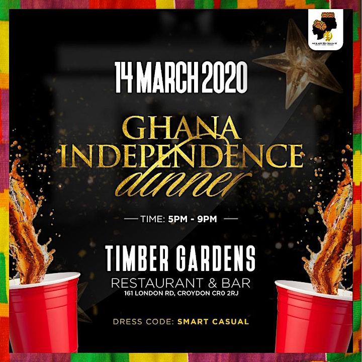 Ghana Independence Dinner image
