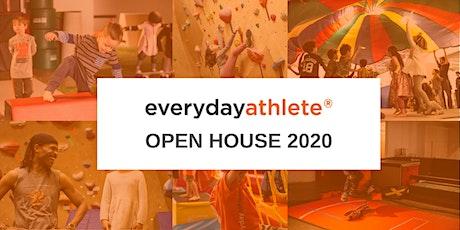 May 2, 2020 Open House | 2:30 - 4:00PM | 5-6 & 7+ yrs: Skateboarding, Climbing, Ninja tickets