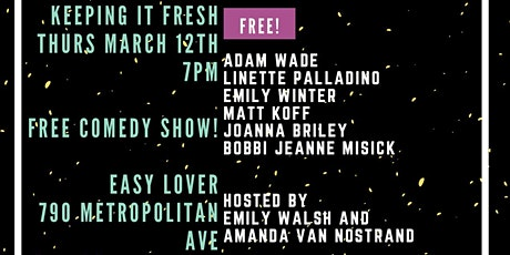 Keeping it Fresh!  A Comedy Show tickets