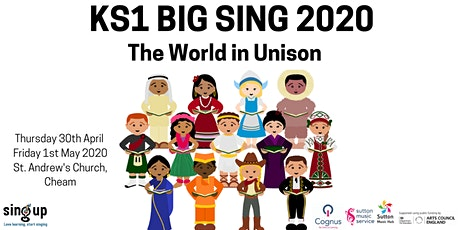 Sutton Music Service KS1 Big Sing! Thursday PM concert - POSTPONED tickets