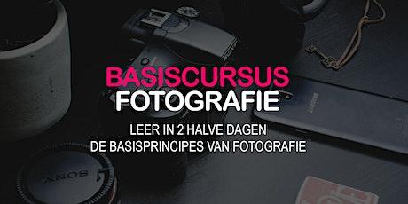 BASISCURSUS fotografie (GENT) tickets