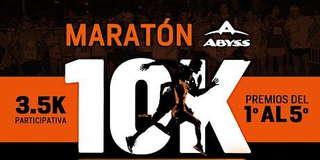 Maratón Abyss 10K Villa Cañás 2020 entradas