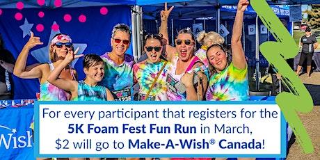 The 5K Foam Fest - Kitchener / Waterloo 2020 tickets