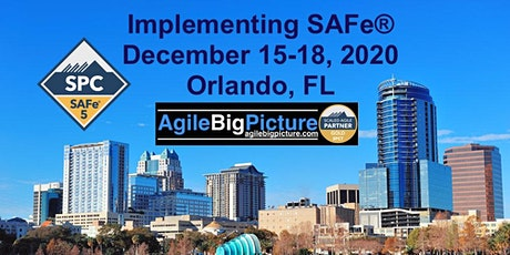 ORLANDO, FLORIDA - Implementing SAFe® 5.0 with SPC Certification tickets