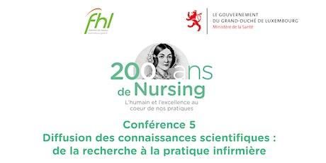 Nightingale Challenge : De la recherche à la pratique infirmière tickets