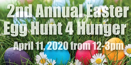 2nd Annual Easter Egg Hunt 4 Hunger tickets