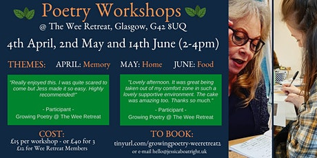 Growing Poetry @ The Wee Retreat tickets