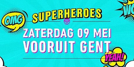 Funky Fabric - Superheroes tickets