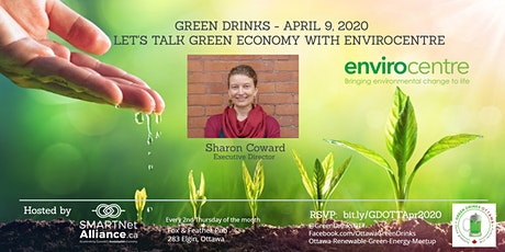 Green Drinks April - Let's Talk Green Economy with EnviroCentre tickets