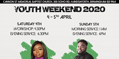 Youth Weekend 2020- Growing In Grace (Currently Postponed)  tickets