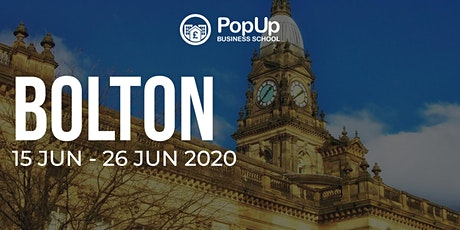 Bolton - PopUp Business School | Making Money from your Passion tickets