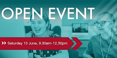 Farnham College Open Events tickets