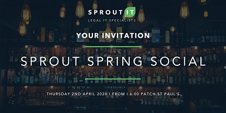 Sprout Spring Social tickets
