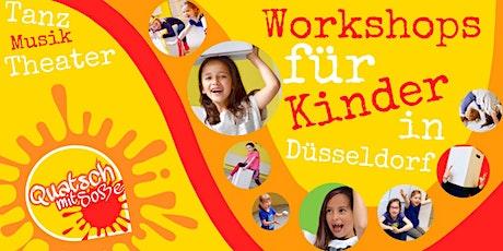 Quatsch mit Soße M - Workshop für 6 bis 8-Jährige Tickets