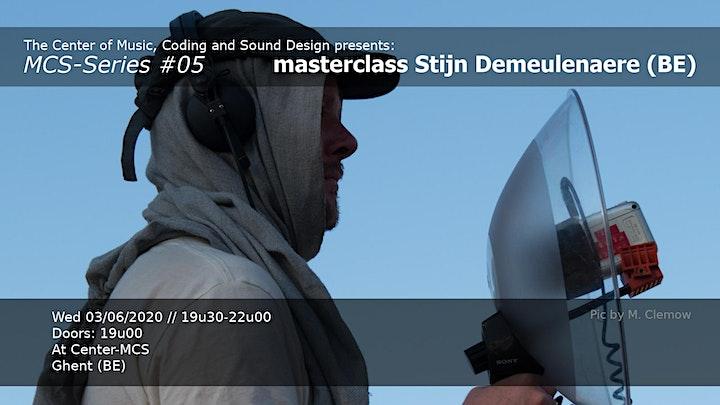 Afbeelding van MCS Series #05 : Stijn Demeulenaere