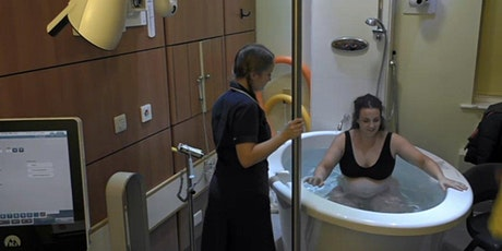 "ON HOLD UNTIL FURTHER NOTICE ""Water birth"" workshop 2 hours session tickets"