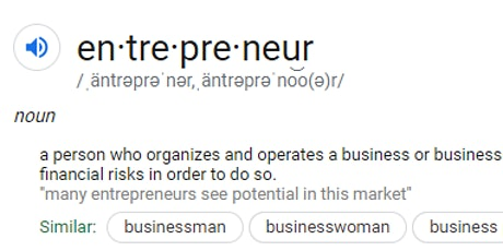 So You Want To Be An Entrepreneur tickets