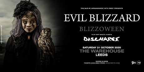 Blizzoween: Evil Blizzard vs Discharge (The Warehouse, Leeds) tickets