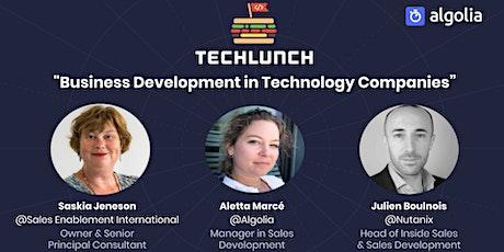 TechLunch #33: Business Development in Tech Companies tickets