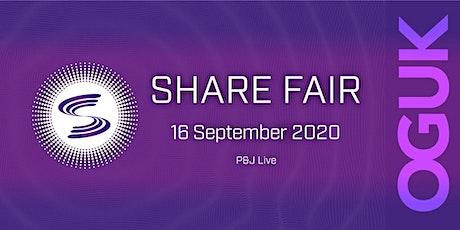 Share Fair (16 September 2020) tickets