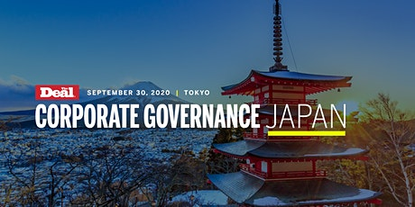 Corporate Governance Japan tickets