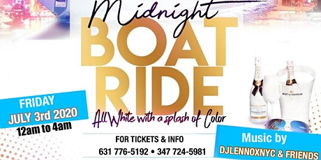 JULY 3RD ALL WHITE WITH A SPLASH OF COLOR BOAT RIDE tickets