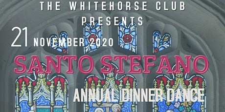 SANTO STEFANO Annual Dinner Dance 2020 tickets