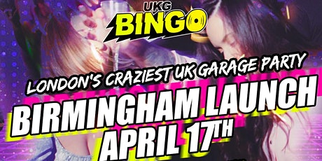 UKG BINGO | BIRMINGHAM LAUNCH tickets