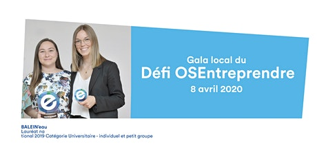 Gala local du Défi OSEntreprendre 2020 tickets