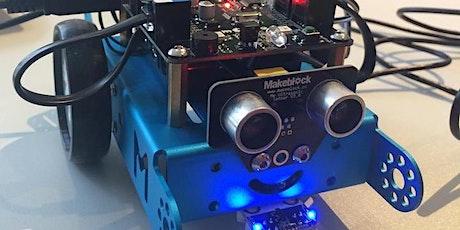 ABGESAGT: Robotics: Roboter bauen & programmieren  tickets