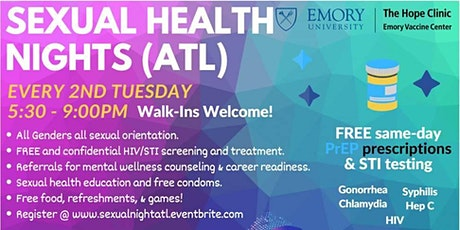 Sexual Health Night ATL tickets