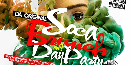 Saturday 4/25 >> Da Original Soca Brunch + Day Party | No Cover before 5 PM | $40 Brunch with 2 Hour of Mimosas & Rum Punch tickets