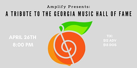 Amplify Presents: A Tribute to the Georgia Music Hall of Fame tickets