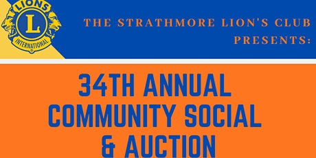 Strathmore Lions Spring Social and Auction tickets