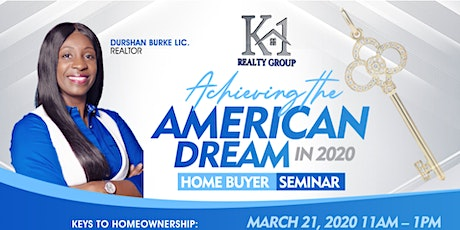 Achieving the American Dream in 2020 tickets