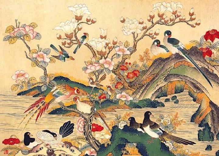Korean Folk Painting Workshop image