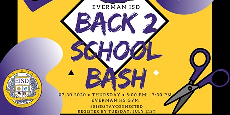 Everman ISD Back to School Bash - Parent/Student Registration tickets