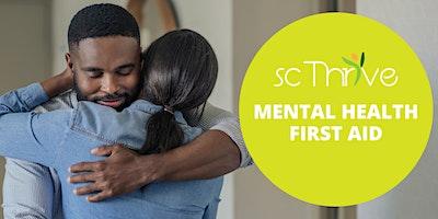 Adult Mental Health First Aid Charleston 2020