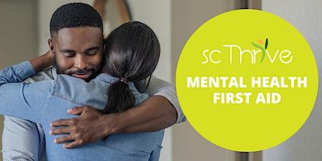 Adult Mental Health First Aid Charleston 2020 tickets